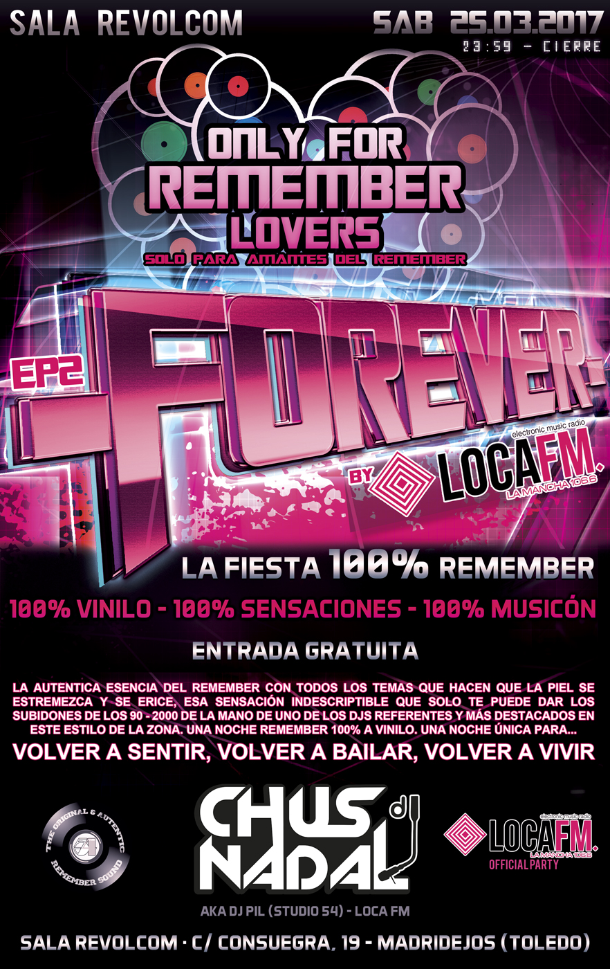 Forever fiesta remember by locafm